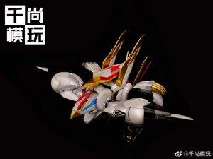 Image 2 - モデルファン INSTOCK qianshang モデル qs01 Ryuoumaru 含有 led ライト金属布アクションフィギュア玩具