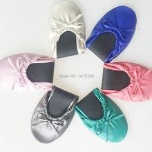 Популярные цветные женские туфли на плоской подошве мягкие свадебные туфли на плоской подошве для танцев большие размеры