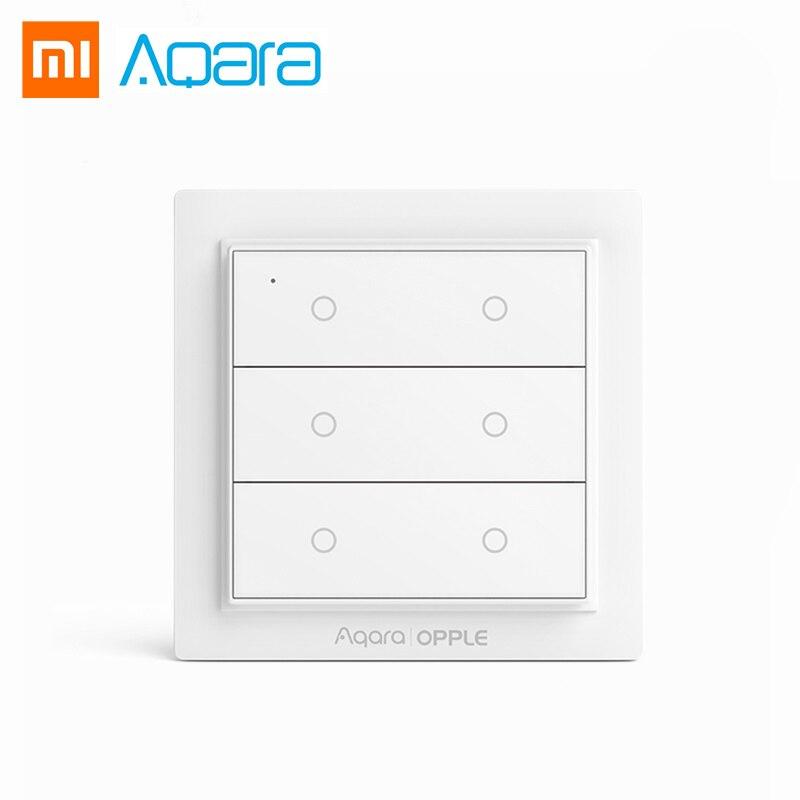 US $15.44 32% OFF Mijia Aqara Opple Smart Wireless Switch No Wiring on wall timer switch, wall rocker switch, wall diagram, wall switch no neutral wire, wall light, wall dimmer switch, wall volume control switch, wall switch plugs, wall fans, wall parts,