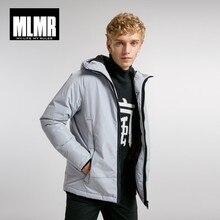 JackJones Mens Hooded Parka Coat Long Padded Jacket Coat Fashion Menswear Basic 218309529
