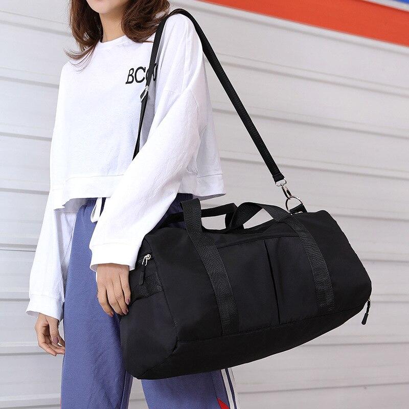 Capacity Duffel Bag Travel Portable Men And Women Sports Training Fitness Short-distance Large 2019 JIULIN New