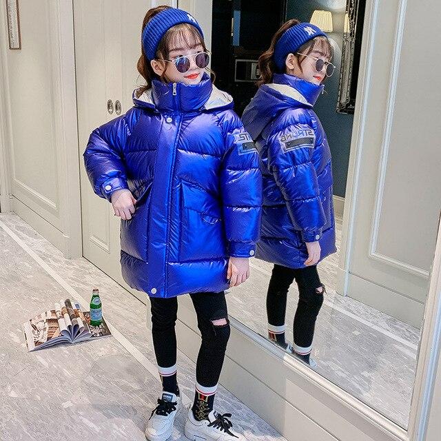 Hot Koop Xmas Meisjes Warme Winter Jas Kunstmatige Haar Lange Kids Capuchon Jas Voor Meisje Bovenkleding Meisjes Kleding 4 12 Y