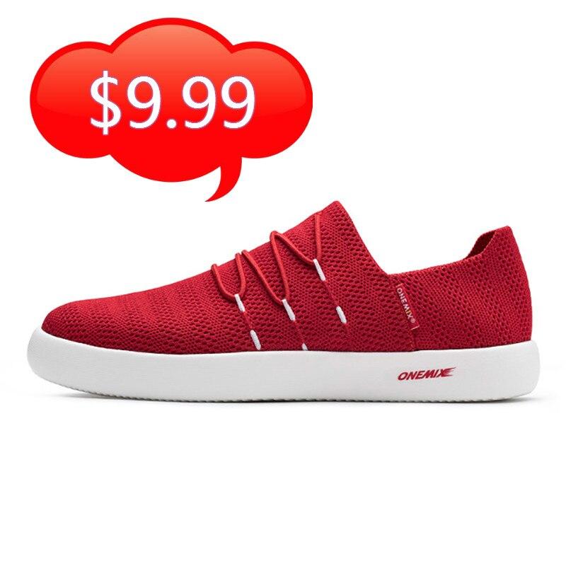 ONEMIX kadın rahat tembel ayakkabı yumuşak nefes işık çift ayakkabı kadın açık yürüyüş ayakkabı Slip-on sandalet Zapatillas
