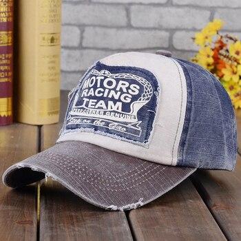 Moda wiosna czapka bawełniana czapka z daszkiem czapka typu Snapback kapelusz na lato dopasowana czapka Hip hopowa czapki dla mężczyzn kobiety szlifowanie Multicolor
