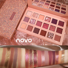 NOVO Eyeshadow Pallete 18 Color Colorful Waterproof Concealer Makeup Lasting Effect Eye Shadow INS Hotsell