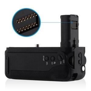 Image 3 - Hot 3C Vg C2Em Battery Grip di Ricambio Per Sony Alpha A7Ii/A7S Ii/A7R Ii Digital Slr di Lavoro Della Macchina Fotografica Con np Fw50 Batteria