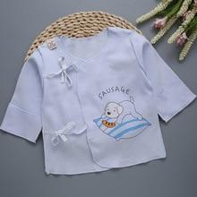 Baby Tshirts Long-Sleeve Newborn Cotton Cartoon Tops Boy Cute