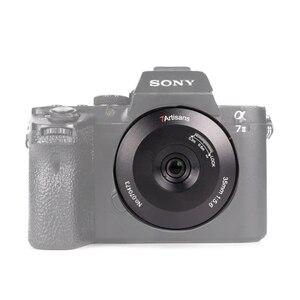 Image 3 - 7 Ambachtslieden 35Mm F5.6 Lens Full Frame 2ED Licht Gewicht Ultra Dunne Mf Pan Focus Camera Lens Voor leica L Sony E Nikon Z Mount Camera