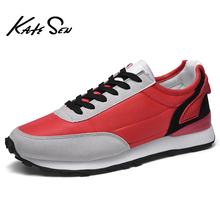 Buy KATESEN Men Shoes Sneakers Breathable Air Mesh Sneakers Slip on Summer Non-leather Casual Lightweight Sock Shoes Men Sneakers directly from merchant!