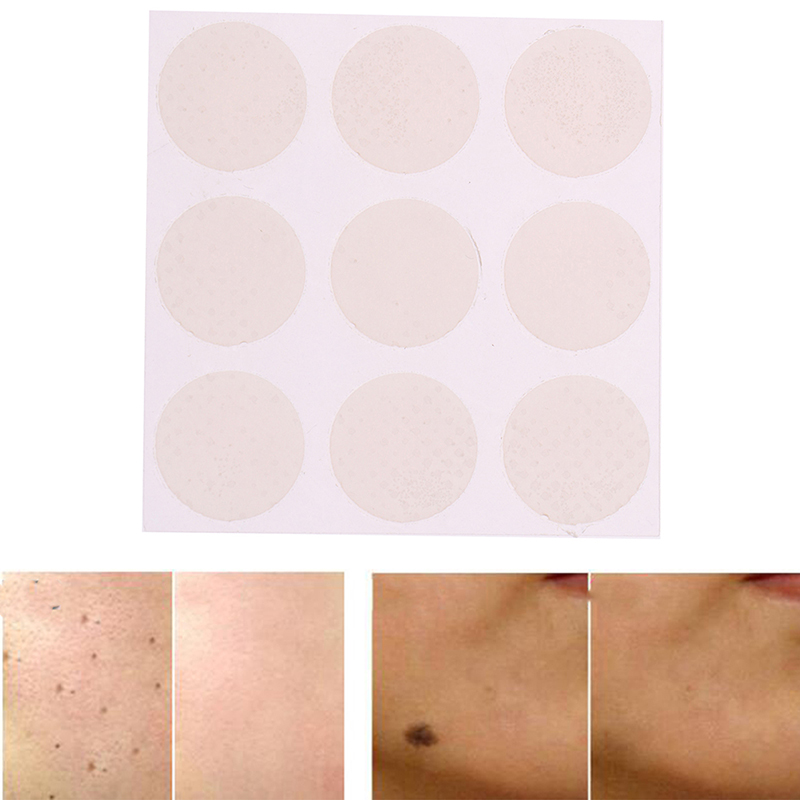 9Patches/sheet Reusable Acne Gel Scar Therapy Sheet Skin Repair Effect Dilute Acne Marks Silicone Gel Scar Sheet Removal Patch
