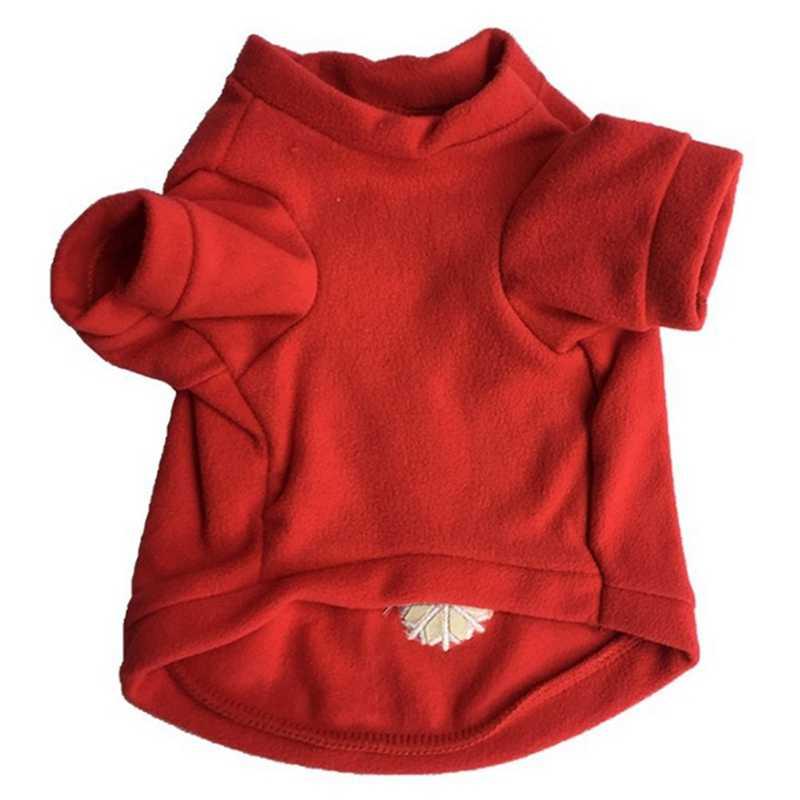 Rot Hunde Jacke Mantel Bekleidung Teddy Brief Schneeflocke Hund Pullover Modische Hund Kleidung Sport Welpen Haustier Weihnachten Outfit