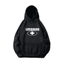 Lifeguard Printed Men Hoodie 2020 Autumn Casual Streetwear Men/Women Skateboard Pullover Sweatshirts Hoodies(China)