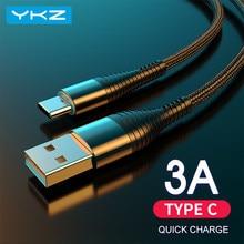 Câble de charge USB vers Type-C pour téléphone portable, chargement rapide, cordon d'alimentation de données, pour iPhone 11, XS Max, XR, 10, X, 8, 7, 6, 6s, Plus, iPad Mini 3