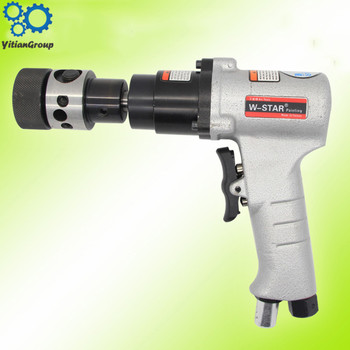 Pneumatic Tapping Machine Non-self-locking gun type tapping machine M3-M12 Handheld with positive and negative taper vertical