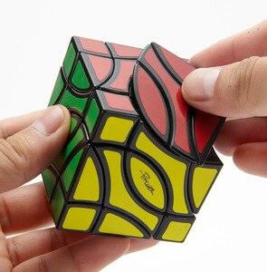 Image 5 - Lanlan Pitcher 4 Corner Black Cubo Magico Cube Educational Toy Gift Idea