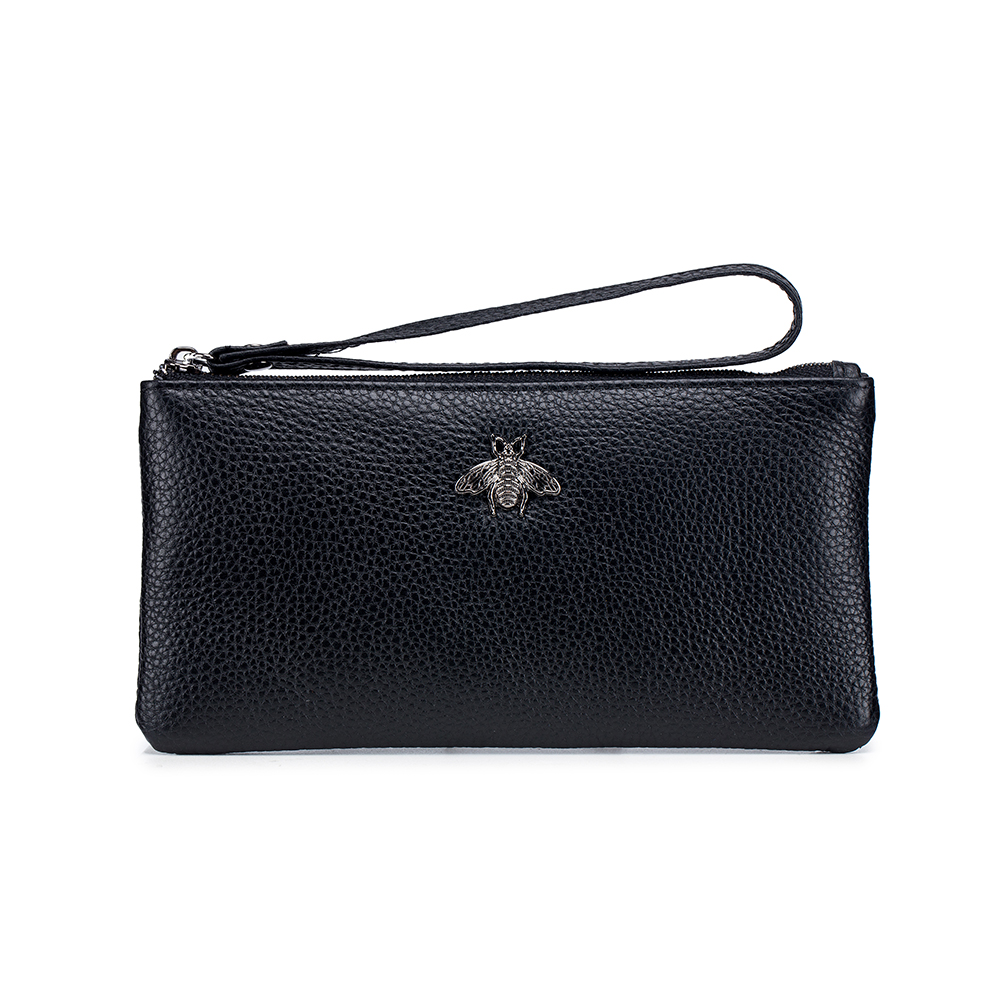 COMFORSKIN Long Style Women Wallet Dropshipping Luxurious Cow Leather Purse With Mobile Phone Pocket For Female Large Capacity