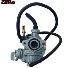TDPRO New Carburetor PZ19 19mm 50cc 70cc 90cc 110cc 125cc ATV Quad Pit Dirt Bike SSR Atomik Motorcycle Racing Carby Carbureter