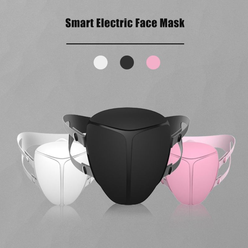 Smart Electric Face Mask Particulate Respirator Air Purifying Anti Dust Pollution Fresh Air Supply Anti-PM2.5 Anti-bacterial