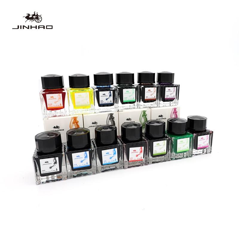 Jinhao Color Pen Ink Watercolor Ink Glass Pen Dip Pen Non-gold Powder 30ml Dip Pen 13 Color Ink