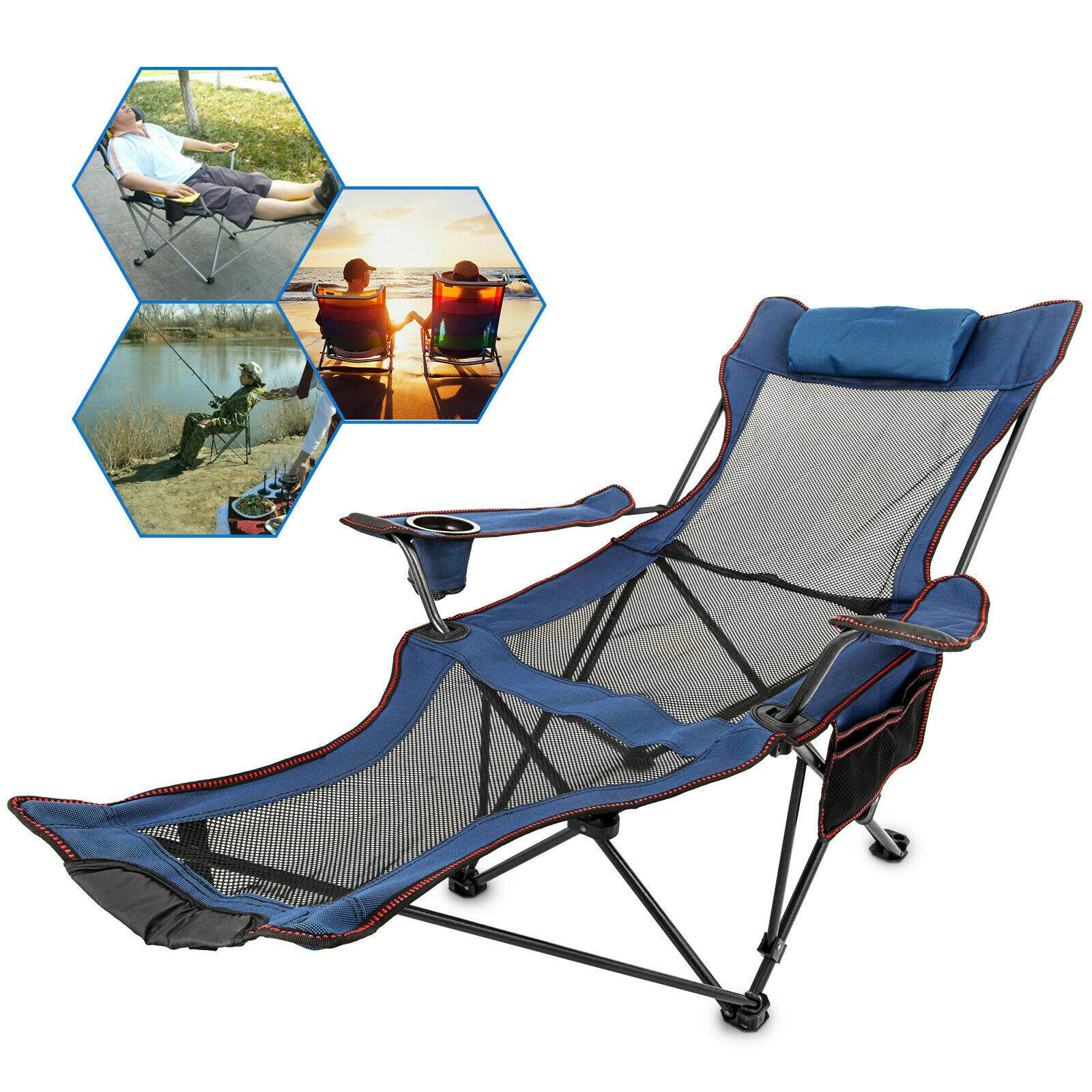 Reclining Folding Chair Sun Lounger
