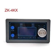 ZK 4KX DC DC Buck Boost dönüştürücü CC CV 0.5 30V 4A 5V 6V 12V 24V güç modülü ayarlanabilir regüle laboratuvar güç kaynağı
