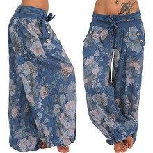 Lantern Aladdin Joggers-Pants Loose-Trousers Print A20 Wide Baggy Plus-Size 5xl 5xl