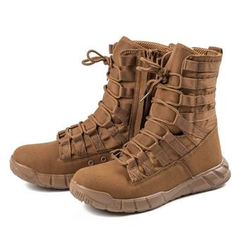 2018 spring men military boots genuine cow leather waterproof tactical desert combat ankle boot men s army work shoes Trekking Army Combat Boots Military Boots Men Hiking Boots Breathable Tactical Combat Desert Training Boot