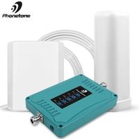 Homely and Fashionable Signal Repeater 2G 3G 4G Cell phone Amplifier ALC DCS 800/900/1800/2100/2600MHz Mobile Signal Booster Kit