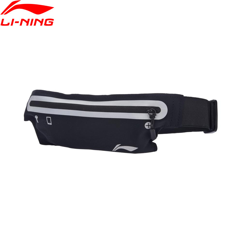 Li-Ning Unisex Running Waistpack Nylon Reflective Waterproof Men&Women LiNing Sports Waistpack Bag ABLM026 BJY035