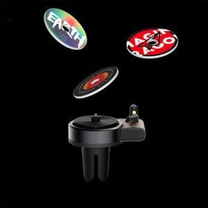 Image 5 - Автомобильный освежитель воздуха Youpin Sothing TITA, новейший поворотный фонограф, освежитель воздуха для автомобиля с 3 сменными планшетами для ароматерапии