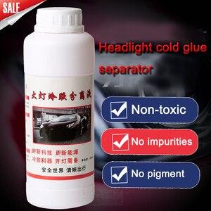 Image 4 - 500ml Car Headlight Polishing Repair Scratch Glass Refurbishmen Headlight Restoration Hydrophobic Vehicle Cold Glue Tool
