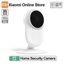 Xiaomi mijia スマート ip カム 2MP 1080 1080p P2P 130 広角赤外線 10 メートル web カメラ双方向オーディオ wifi mi ホームセキュリティカメラ