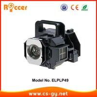 Roccer ELPLP49 V13H010L49 yedek projektör ampuller için EH-TW2800/EH-TW2900/EH-TW3000/EH-TW3200/EH-TW3500