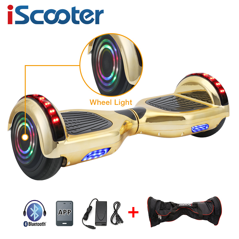 UL2722 6.5 inch Hoverboard or Electric Skateboard with steering-wheel and self Balancing Feature 17