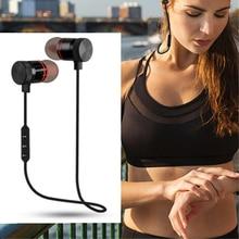 лучшая цена Fitness Sport Wireless Bluetooth Headphones Earphones Headsets for Workout Running Gym HiFi Stereo Earbuds Earphone Built in Mic