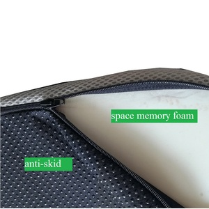 Image 4 - Đệm Ghế Cho Tailbone Giảm Đau Coccyx Gối Mút Vải Lưới Có Thể Tháo Rời Chống Trơn Trượt Ngồi Gối Trĩ