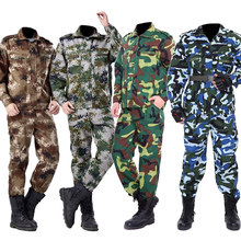 Man SWAT Soldier Army Suit Military Uniform Costumes Security Work Wear Tactical Combat Hunting Clothing Set High Quality