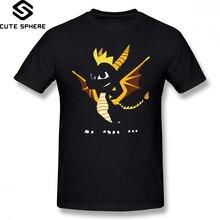 Spyro T Hemd Spyro Die Drachen T-Shirt Kurzen Ärmeln Lustige T Hemd 100 Baumwolle 4xl Druck Männlichen Klassische T-shirt