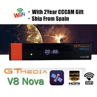 עבור dvb Gtmedia V8 NOVA מ- Super V8 Freesat זהה GTMEDIA V8 כבוד DVB-S2 עבור 1 שנת אירופה קליין נבנה יציבה איכות Wifi גבוהה (1)