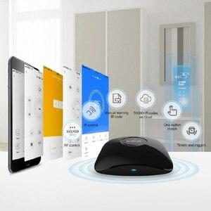 Image 4 - 2020 Broadlink RM4 pro/Bestcon RM4C mini Universele IR  RF Afstandsbediening Compatibel Alexa Google assistent Voor AC