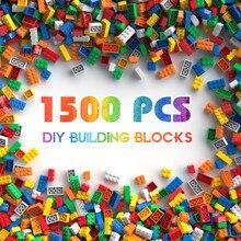 Blocos de construção cidade diy tijolos criativos a granel modelo crianças montar brinquedos compatíveis toda a marca tamanho pequeno