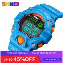 SKMEI 1484 Children Kids Digital Electronic Wristwatch Students Boys Girls Water