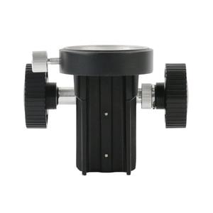 Image 5 - 50 ミリメートル直径調節可能なステレオ顕微鏡スタンドホルダー咬合アームブラケット顕微鏡ギアアクセサリー