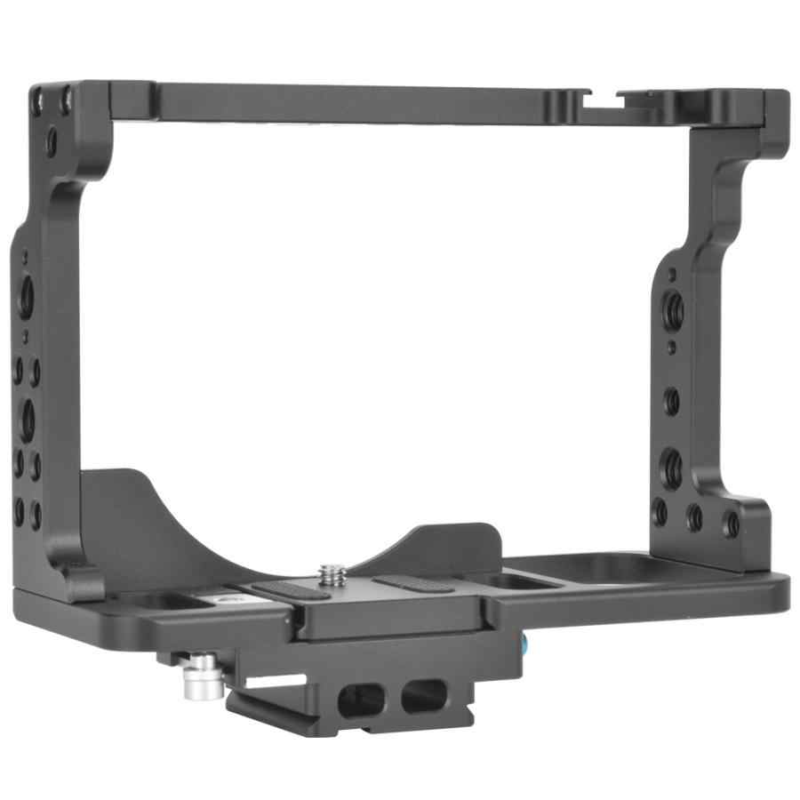 fotografia Aluminium Alloy Photography Shooting Camera Cage Extension Frame for Nikon Z6/Z7 Mirrorless Camera photo studio