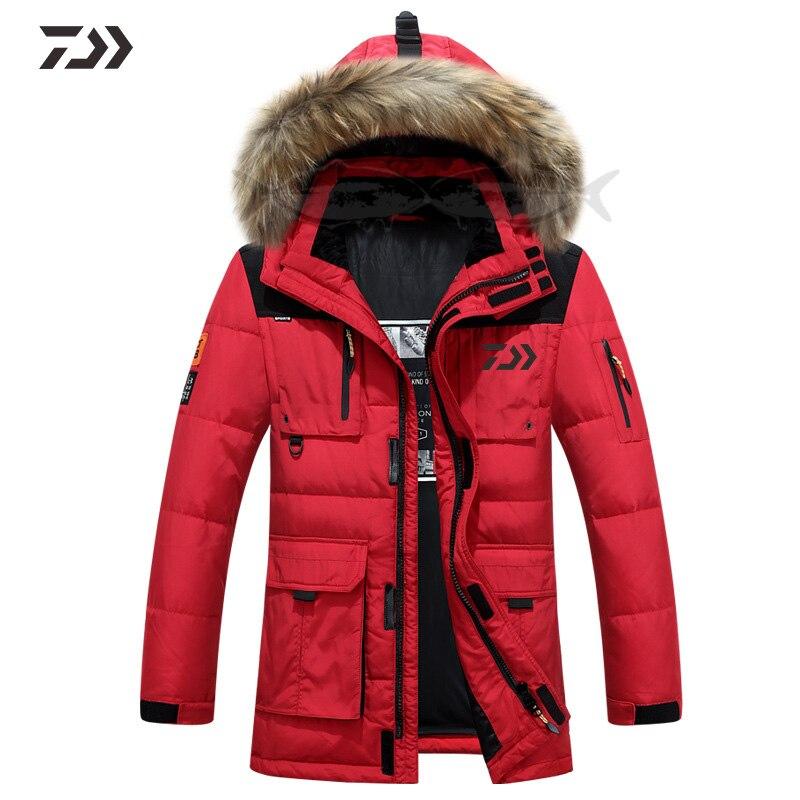 jaquetas daiwa roupas de pesca dos homens inverno outono termica camisa de pesca retalhos jaqueta de