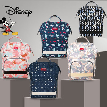 Disney Mickey Diaper Bag Backpack USB Fashion Mummy Maternity Nappy Baby Bags Multifunction New