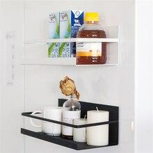 Кухонная стойка для холодильника Магнитная многофункциональная декоративная стойка без перфорации кухонная ванная стойка для холодильника полка для хранения