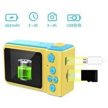 New Arrivals Mini 2 Inch Portable 1080P Digital Video Camera Cartoon Cute Birthday Gift Toys for Boy