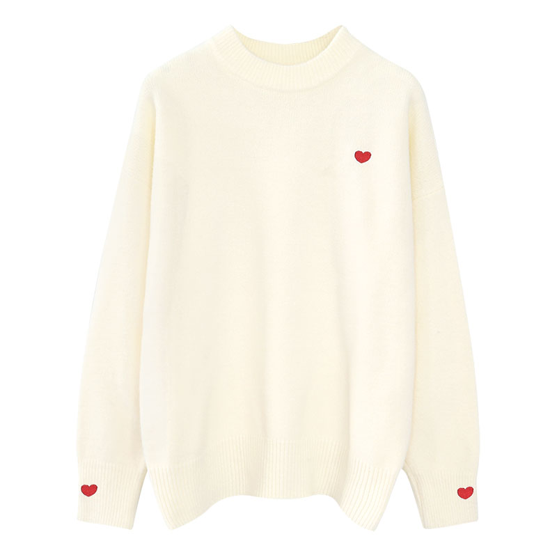 o-neck women sweater and pullovers o-nek solid knitted sweet pulls lady elegant outwear coat tops