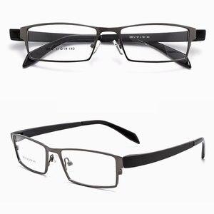 Image 4 - Reven bate marco frontal de aleación para gafas de hombre y mujer, TR 90 de plástico Flexible, patillas ópticas, montura para gafas, D812